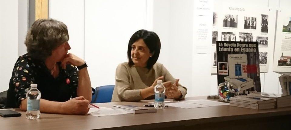 Carmen Cuevas y Regina Carral